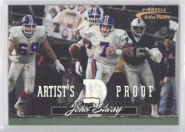1996 Pinnacle Action Packed Artist's Proof #61 - John Elway