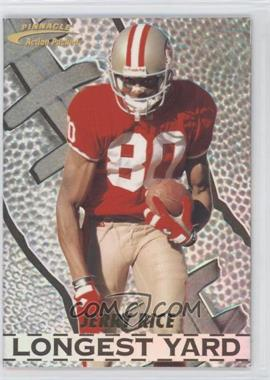 1996 Pinnacle Action Packed Longest Yard #6 - Jerry Rice