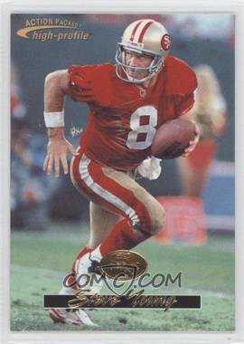 1996 Pinnacle Action Packed Promos #16 - Steve Young