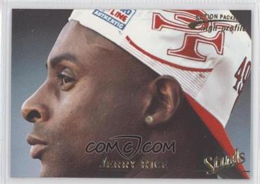 1996 Pinnacle Action Packed Studs Promo #3 - Jerry Rice