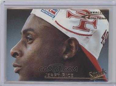 1996 Pinnacle Action Packed Studs #3 - Jerry Rice /1500