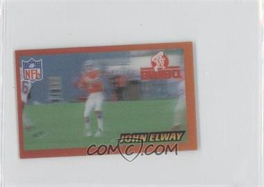 1996 Pinnacle Bimbo Mexican Bread Magic Motion Food Issue [Base] #5 - John Elway