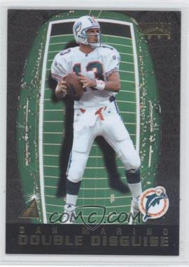 1996 Pinnacle Double Disguise #8 - Dan Marino, Steve Young