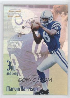 1996 Pinnacle Summit - 3rd and Long #11 - Marvin Harrison /2000