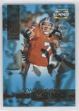 1996 Pinnacle Summit - Inspirations #10 - John Elway /8000