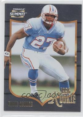 1996 Pinnacle Summit [???] #162 - Eddie George