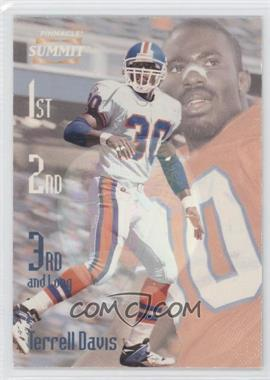 1996 Pinnacle Summit [???] #18 - Terrell Davis /600