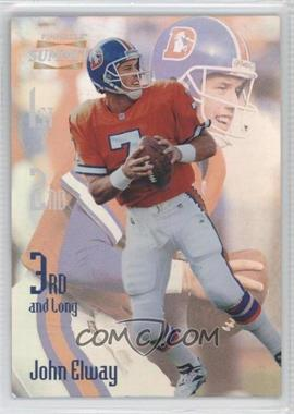 1996 Pinnacle Summit 3rd and Long Promos #13 - John Elway /2000