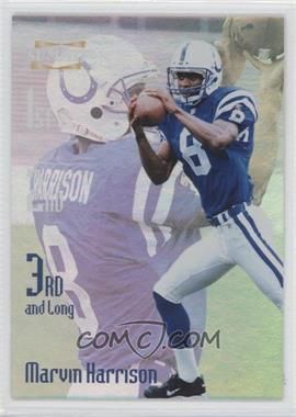 1996 Pinnacle Summit 3rd and Long #11 - Marvin Harrison /2000