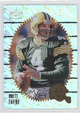 1996 Pinnacle Summit Ground Zero #63 - Brett Favre