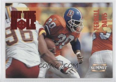 1996 Pinnacle Summit Hit the Hole #13 - Terrell Davis