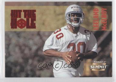 1996 Pinnacle Summit Hit the Hole #4 - Leeland McElroy /1000