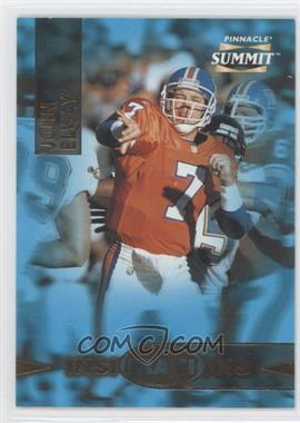 1996 Pinnacle Summit Inspirations #10 - John Elway /8000
