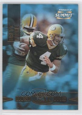 1996 Pinnacle Summit Inspirations #5 - Brett Favre /8000