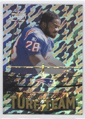 1996 Pinnacle Summit Turf Team Premium Stock #PSTT3 - Curtis Martin /500