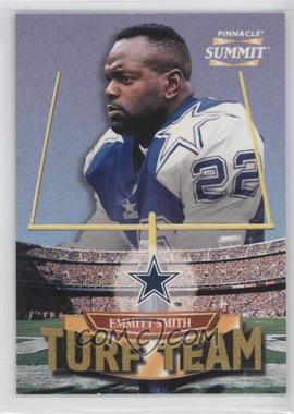 1996 Pinnacle Summit Turf Team #1 - Emmitt Smith /4000