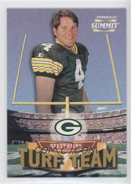 1996 Pinnacle Summit Turf Team #2 - Brett Favre /4000