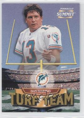 1996 Pinnacle Summit Turf Team #7 - Dan Marino /4000