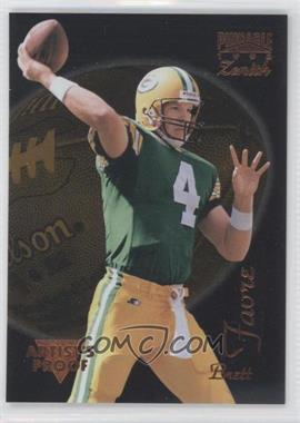 1996 Pinnacle Zenith Artist's Proof #Z-21 - Brett Favre