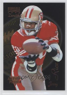 1996 Pinnacle Zenith Artist's Proof #Z-32 - Jerry Rice