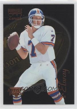 1996 Pinnacle Zenith Artist's Proof #Z-36 - John Elway