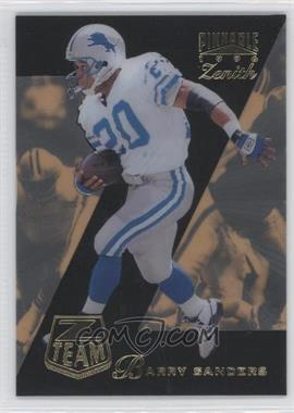 1996 Pinnacle Zenith Z Team #15 - Barry Sanders