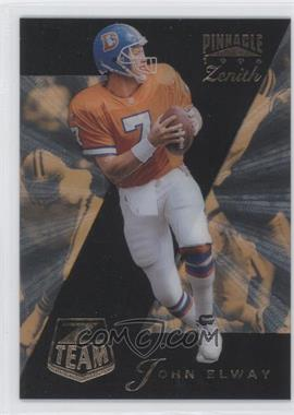 1996 Pinnacle Zenith Z Team #16 - John Elway