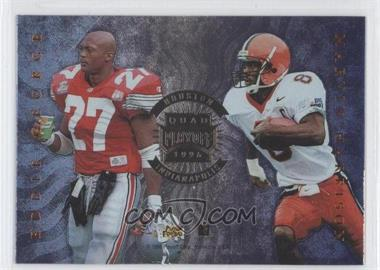 1996 Playoff Absolute [???] #N/A - Eddie Kennison, Eric Metcalf, Eddie George, Marvin Harrison