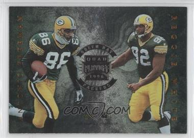 1996 Playoff Absolute Quad Series #11 - Antonio Freeman, Reggie White, Edgar Bennett, Mark Chmura