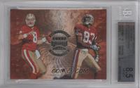 Steve Young, J.J. Stokes, William Floyd, Derek Loville [BGS 8.5]