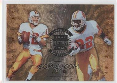 1996 Playoff Absolute Quad Series #29 - Tampa Bay Buccaneers Team, Trent Dilfer, Alvin Harper, Jackie Harris, Horace Copeland