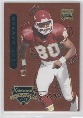 1996 Playoff Contenders Leather Accents #47 - Lake Dawson