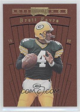 1996 Playoff Contenders Leather Boss Hog #14 - Brett Favre