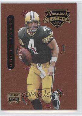 1996 Playoff Contenders Leather #1 - Brett Favre