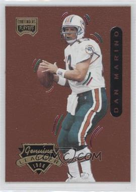 1996 Playoff Contenders Leather #13 - Dan Marino