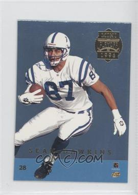1996 Playoff Trophy Contenders Mini Back-to-Backs #28 - Sean Dawkins