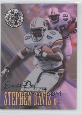 1996 Press Pass Premium [???] #25 - Stephen Davis /380