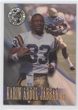 1996 Press Pass Premium [???] #6 - Karim Abdul-Jabbar