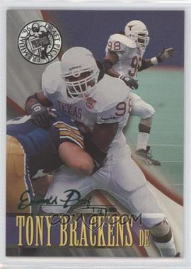 1996 Press Pass Premium Emerald Proof Holofoil #38 - Tony Brackens /380