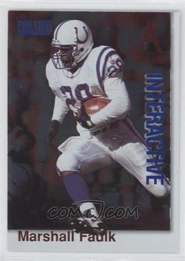 1996 Pro Line - National Convention Interactive #8 - Marshall Faulk