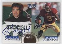Neil O'Donnell, Keyshawn Johnson /250