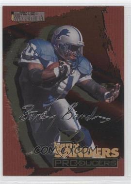 1996 Pro Line II Memorabilia Producers Silver Signatures #P2 - Barry Sanders