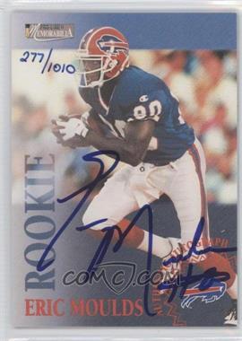 1996 Pro Line II Memorabilia Rookie Autographs #N/A - Eric Moulds /1010