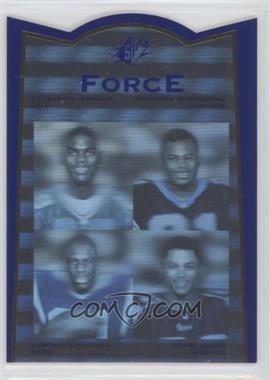 1996 SP Force #FR1 - Lawrence Phillips, Terry Glenn, Tshimanga Biakabutuka
