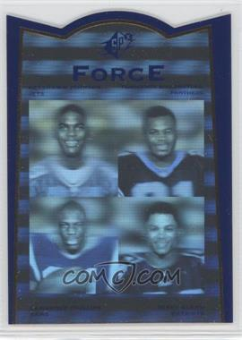 1996 SP Force #FR1 - Lawrence Phillips, Terry Glenn, Tshimanga Biakabutuka