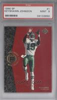 Keyshawn Johnson [PSA 9]
