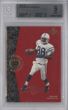 1996 SP #10 - Marvin Harrison [BGS9]