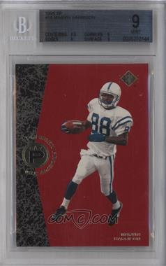 1996 SP #18 - Marvin Harrison [BGS 9]