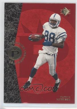 1996 SP #18 - Marvin Harrison