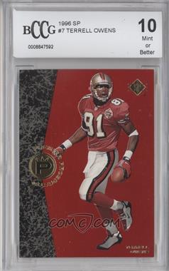 1996 SP #7 - Terrell Owens [ENCASED]